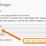Sort Groups
