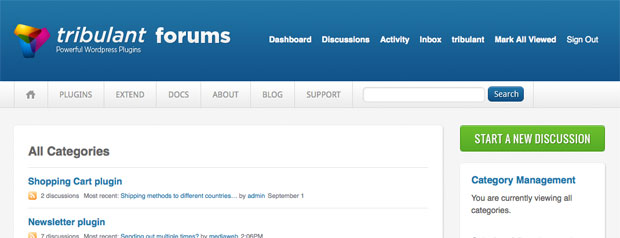 New Tribulant Software Support Forums
