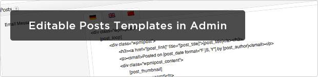Editable-Post-Templates