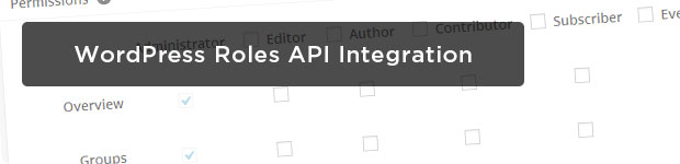 WordPress-Roles-API-Integration