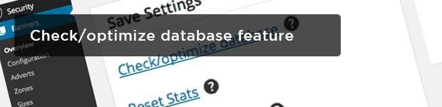 Checkoptimize-database-