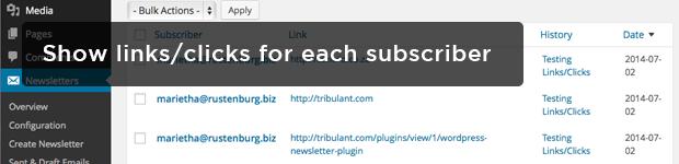 Show-linksclicks-for-each-subscriber