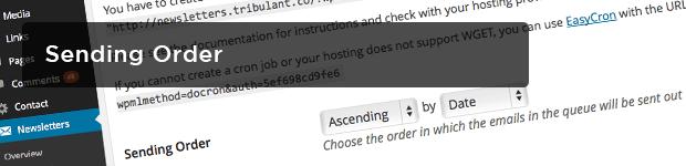 Sending-Order