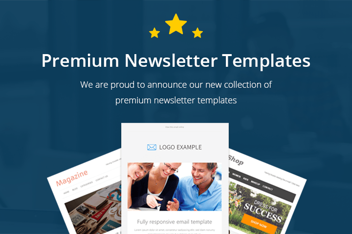 newsletter templates for wordpress