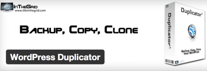 wordpress-duplicator