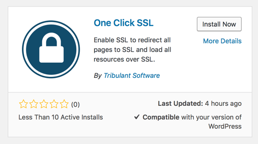 Install WordPress SSL