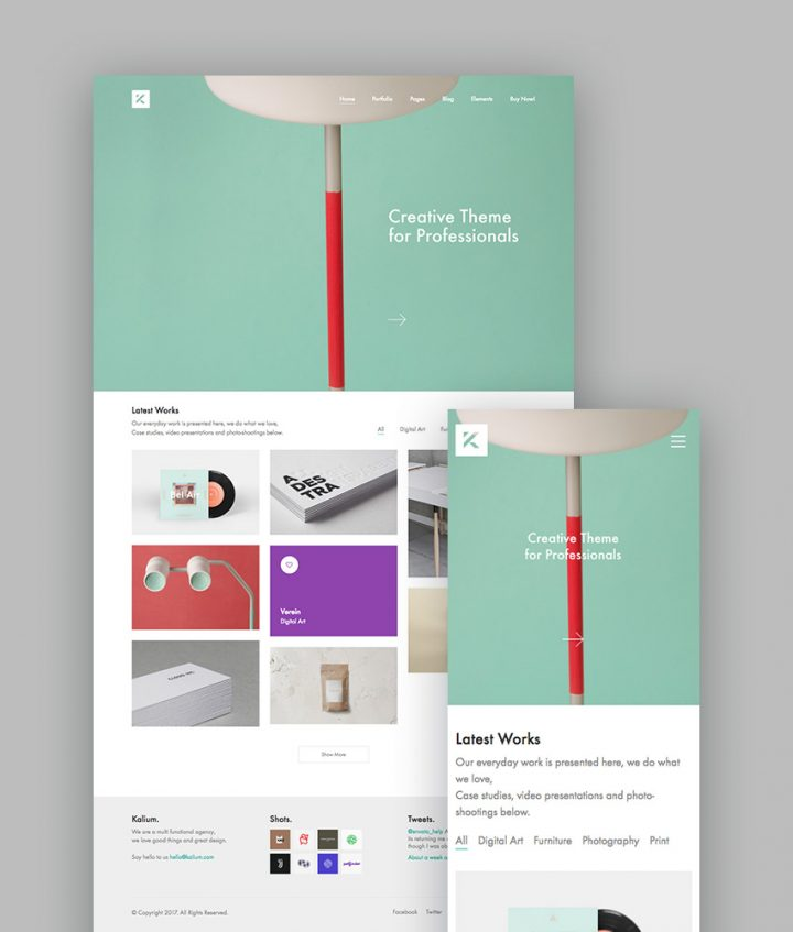 WordPress Kalium Theme