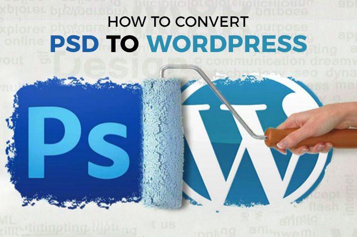 Convert PSD File Into WordPress