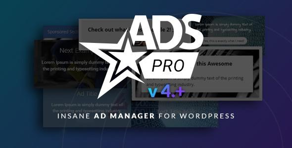 Ads Pro Plugin