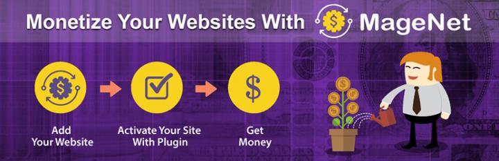 Monetice sus sitios web con MageNet