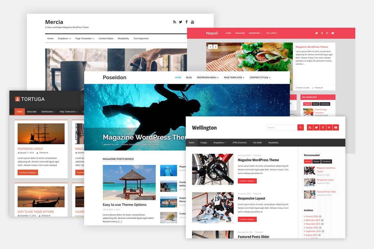 The 6 Best Wordpress Themes For Blogs In 2019 Tribulant Blog