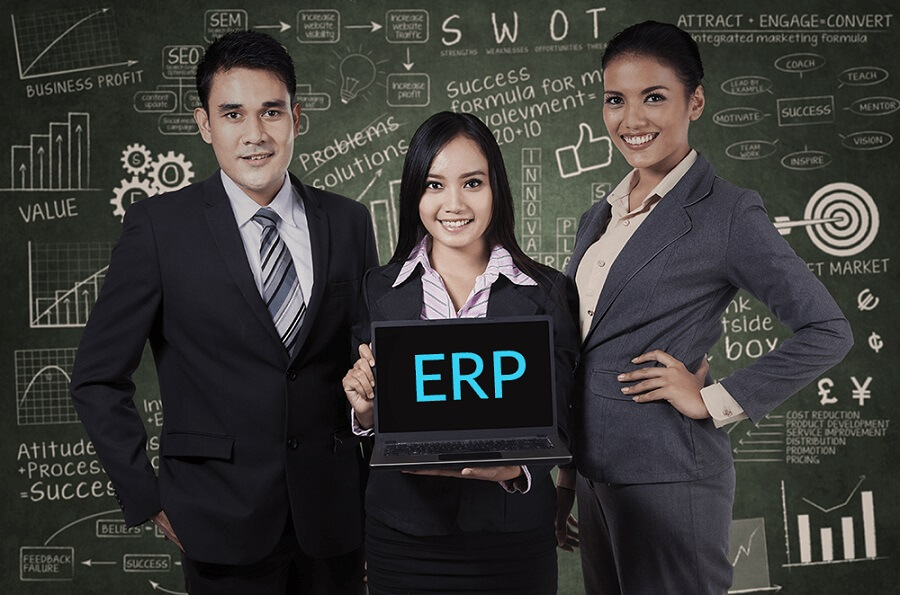 content marketing with erp
