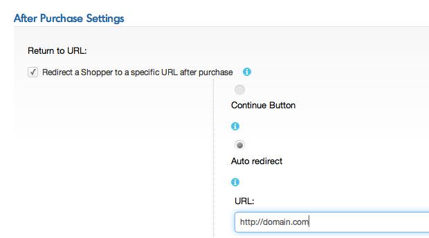 Return to URL