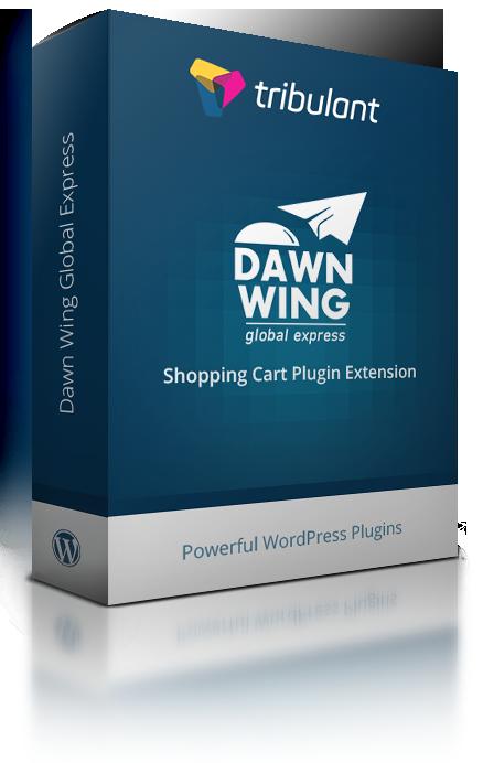 WordPress Shopping Cart Plugin - Dawn Wing